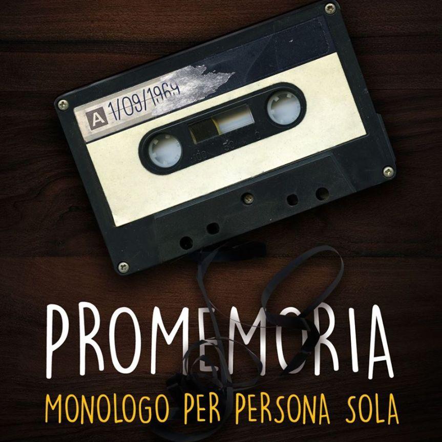 """""""Promemoria. Monologo per persona sola"""": Gloria Gulino al Roma FringeFestival"""
