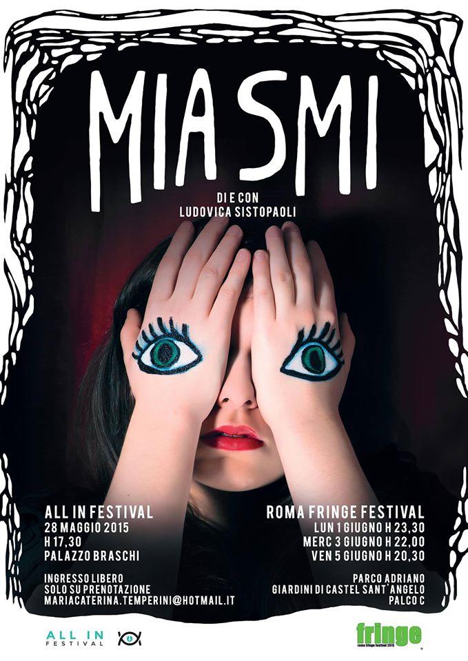 """Miasmi"": maschere di violenza al Roma FringeFestival"