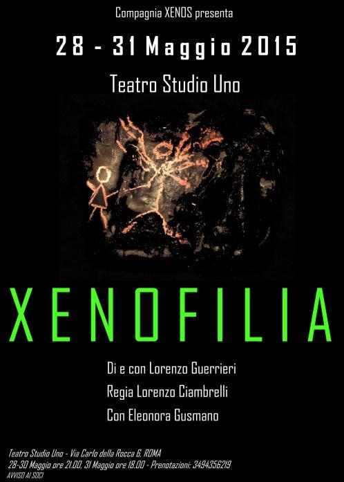 """""""Xenofilia"""" e creature alate al teatro StudioUno"""