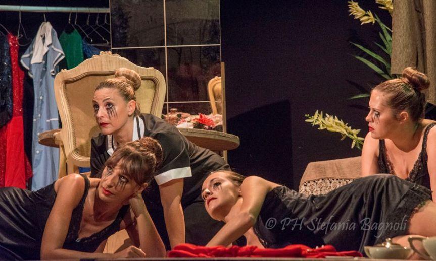 """Il pericoloso gioco di """"Maids"""" al teatroTrastevere"""