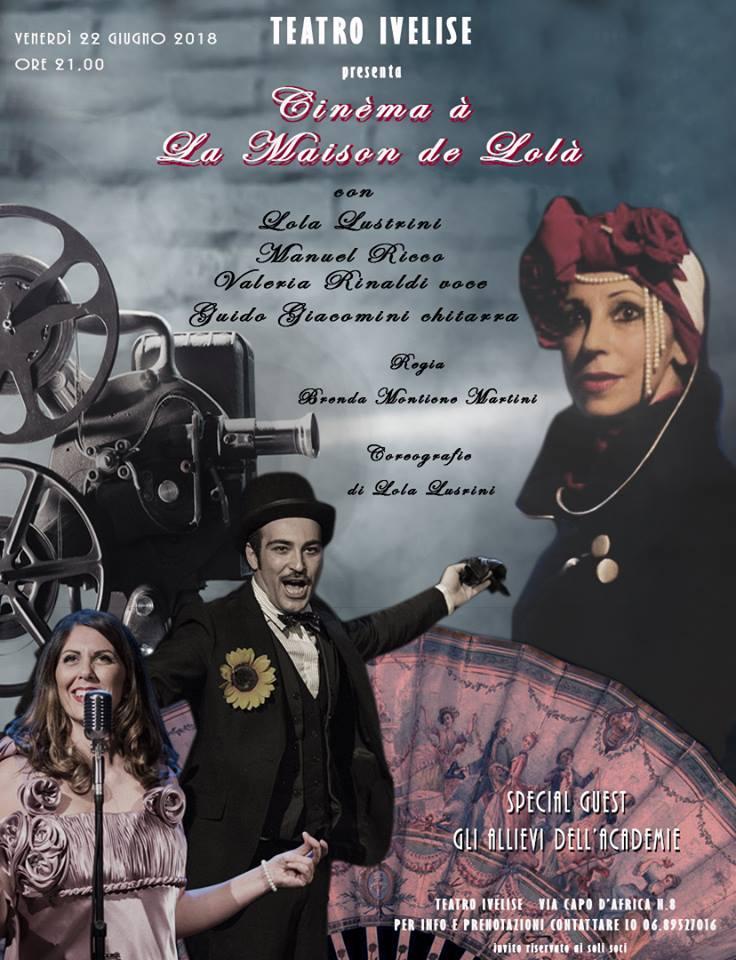 Cinema à la Maison de Lola: Burlesque, Boylesque e Cabaret al teatroIvelise