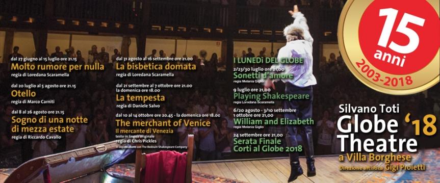 Globe Theatre | La stagione2018/19