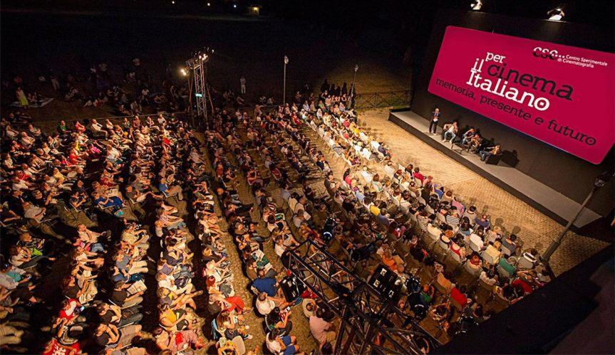 PER IL CINEMA ITALIANO: dal 30 giugno a Santa Croce in Gerusalemme, memoria, presente efuturo