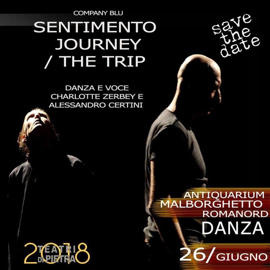Teatri di Pietra | SENTIMENTO JOURNEY / THE TRIP tra danza e musica dalvivo