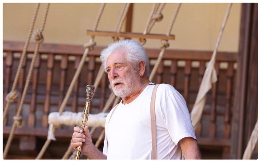 Globe Theatre | LA TEMPESTA con Ugo Pagliai, regia di DanieleSalvo