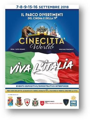 Viva L'Italia 7-16 settembre a CINECITTA' WORLD