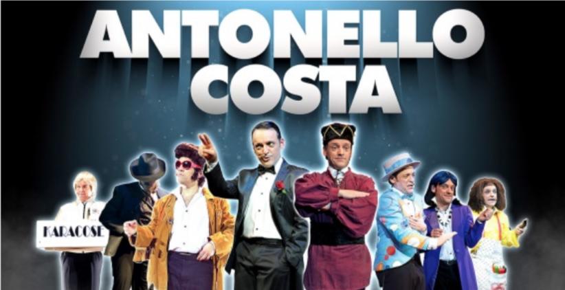 Teatro Olimpico | Antonello Costa in RIDI CON ME dal 26 al 30settembre