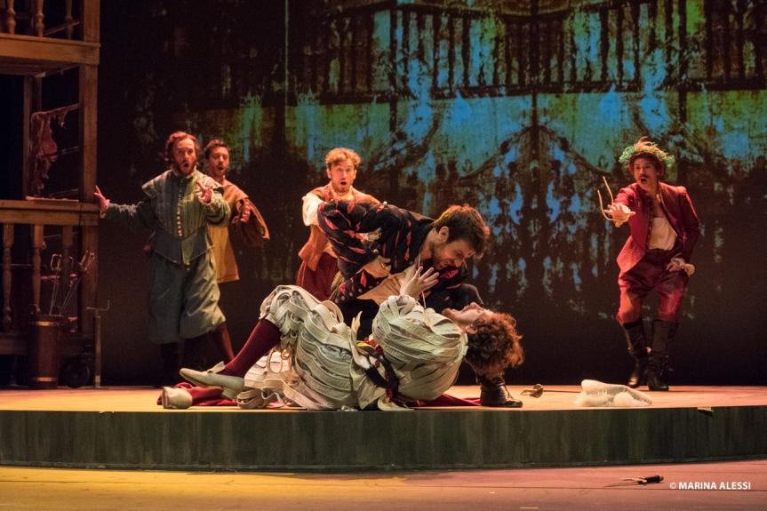 Teatro Brancaccio | Dal 24 ottobre SHAKESPEARE IN LOVE con Lucia Lavia e Marco DeGaudio