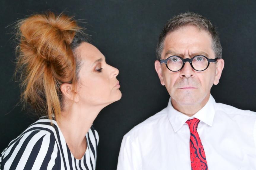 OFF OFF Theatre | Dal 28 novembre CARTA STRACCIA con Pino Strabioli e SabrinaKnaflitz