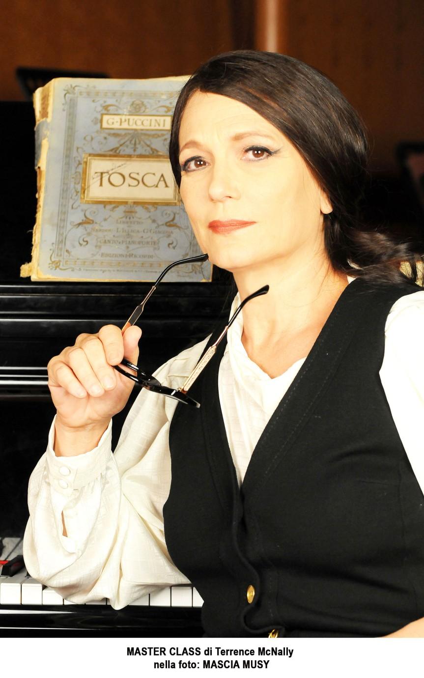 Recensione | MASTER CLASS: la Maria Callas di Mascia Musy al teatro dellaCometa