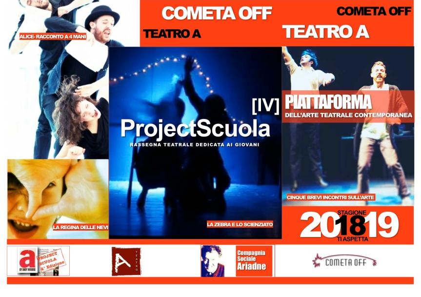 Cometa OFF – PROJECT SCUOLA IV edizione dal 21novembre