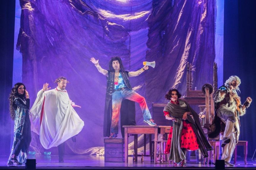 Teatro Quirino | LA BIBBIA RIVEDUTA E SCORRETTA, dal 26 dicembre il primo musical degliOblivion