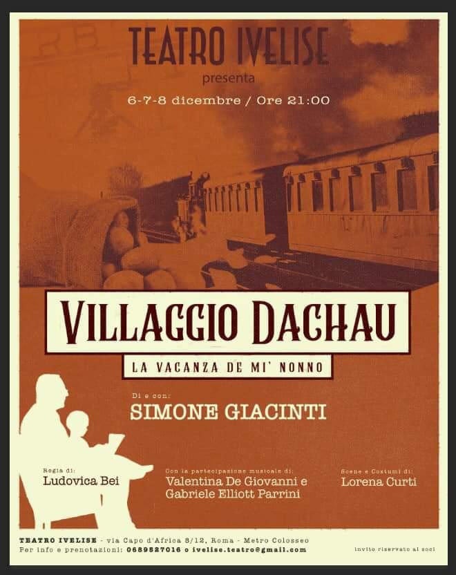 Teatro Ivelise | VILLAGGIO DACHAU – LA VACANZA DE MI' NONNO dal 6dicembre