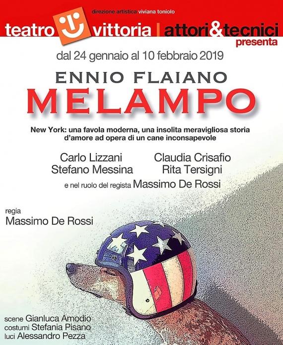 Teatro Vittoria | Dal 24 gennaio MELAMPO di EnnioFlaiano