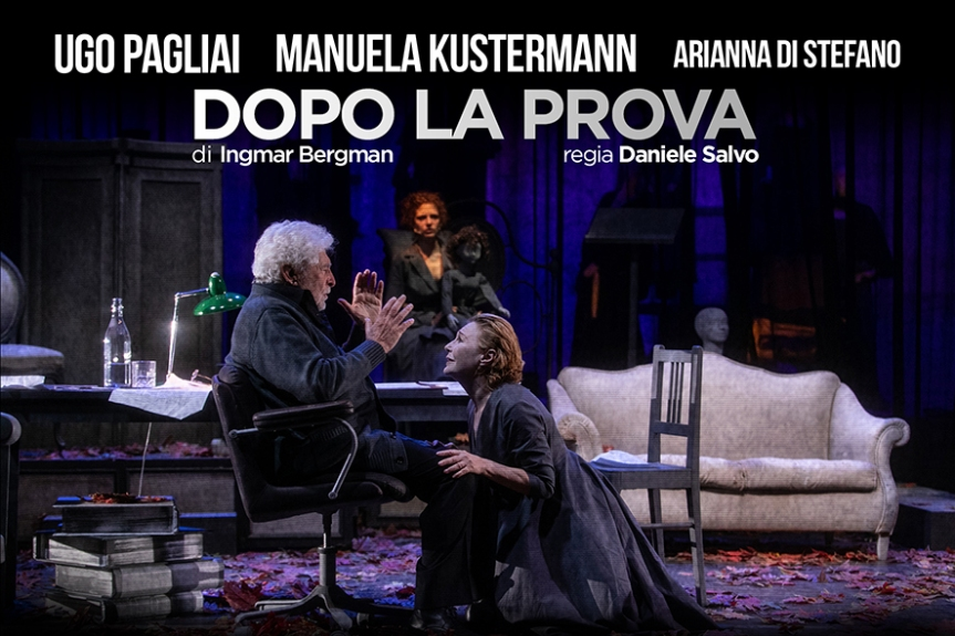 Teatro Vascello | DOPO LA PROVA di Ingmar Bergman dal 31gennaio