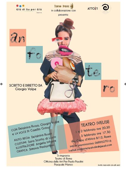 Teatro Ivelise | ANFOTERO di Giorgio Volpe dal 1febbraio