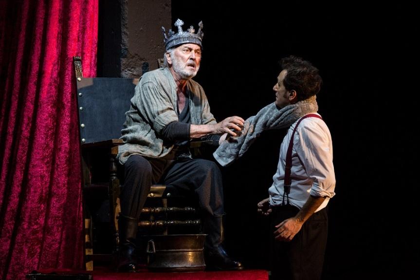 Teatro Vascello | WHO IS THE KING un progetto di Lino Musella, Andrea Baracco, Paolo Mazzarelli dal 18gennaio