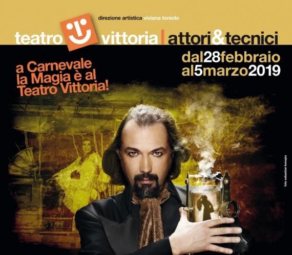 ANNULLATO Teatro Vittoria | L'ILLUSIONISTA Alberto Giorgi dal 28febbraio