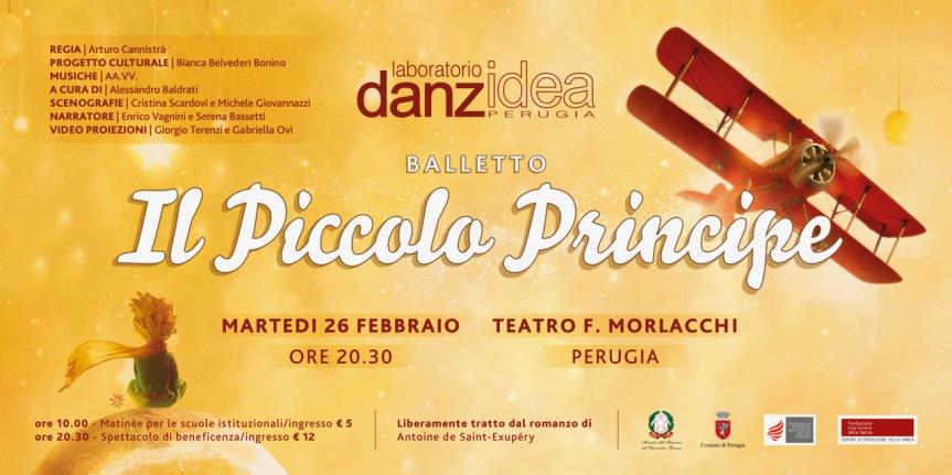Teatro Morlacchi | Il 26 febbraio il Laboratorio Danzidea presenta IL PICCOLOPRINCIPE