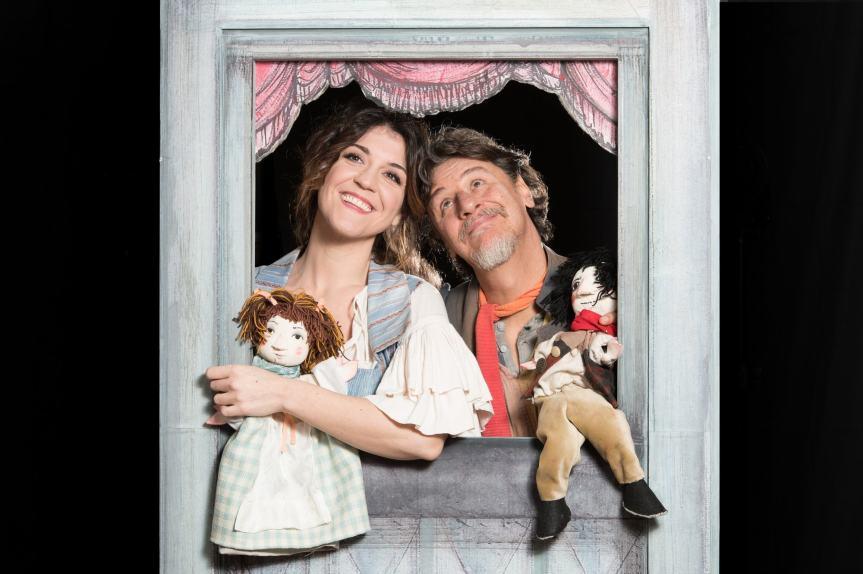 Teatro Eliseo | LA COMMEDIA DI GAETANACCIO con Giorgio Tirabassi e Carlotta Proietti dal 19febbraio