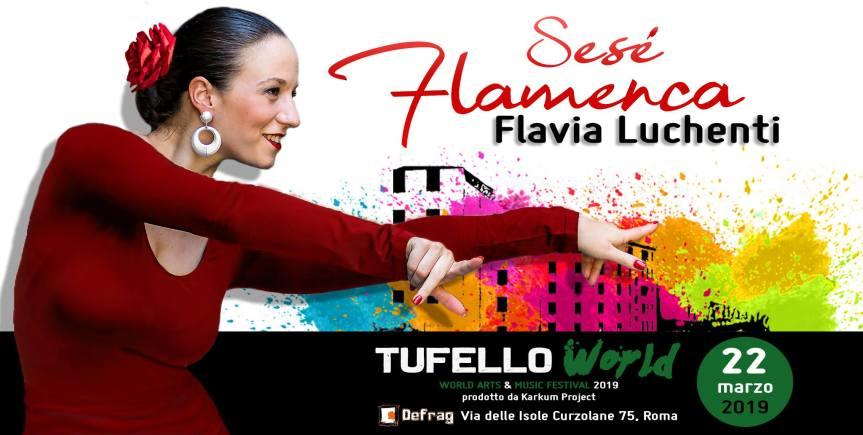 Il 22 marzo al Tufello World Festival, flamenco e cultura gitana con FlaviaLuchenti