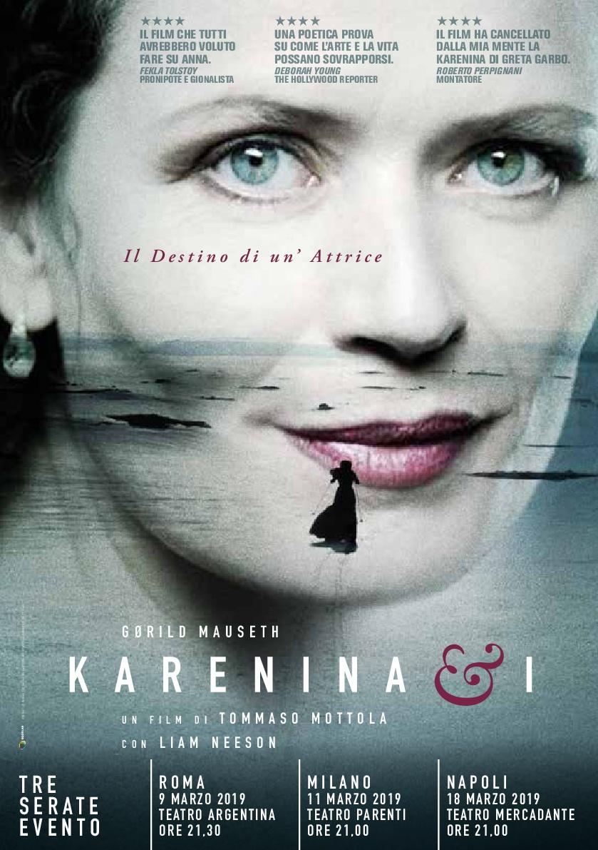 KARENINA & I di Tommaso Mottola: evento speciale a Roma, Milano eNapoli