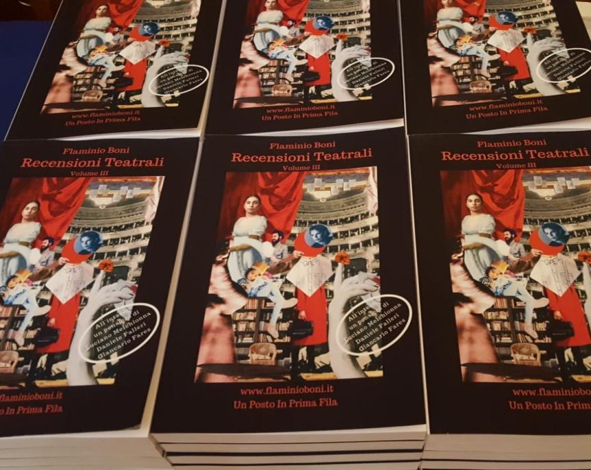 Recensioni Teatrali: il terzo volume a cura di FlaminioBoni