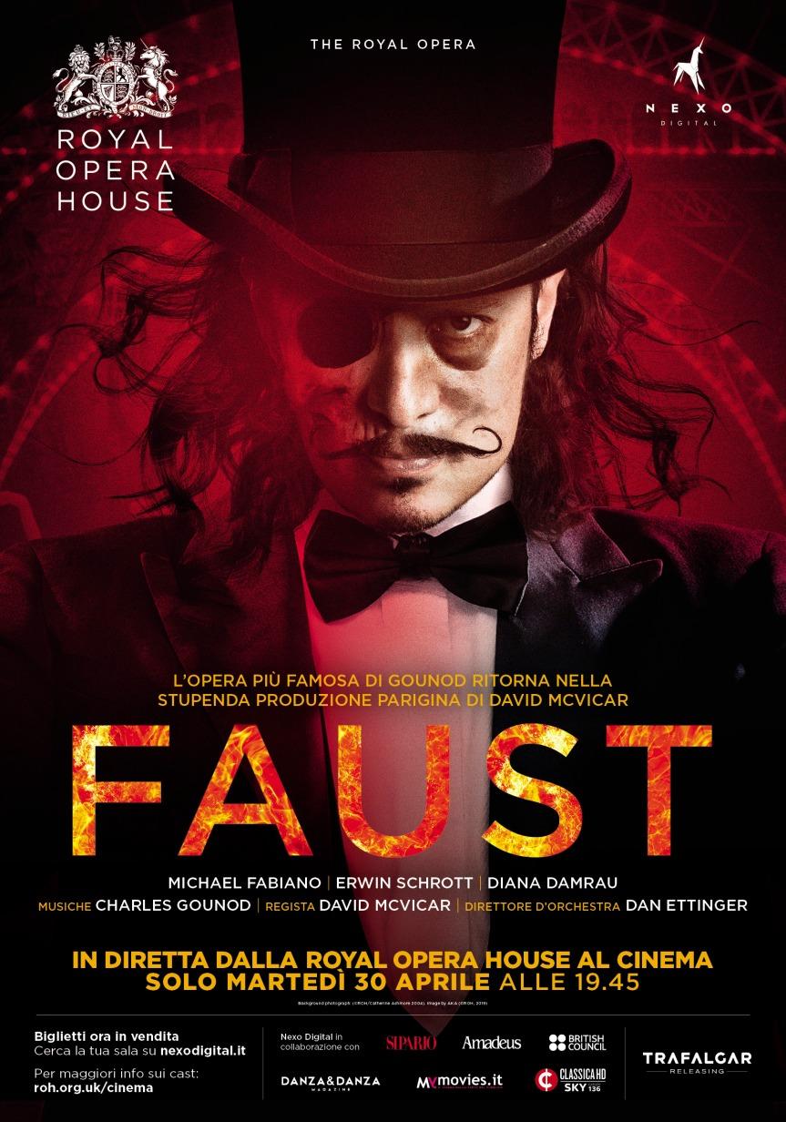 Il 30 aprile nei cinema il FAUST della Royal OperaHouse
