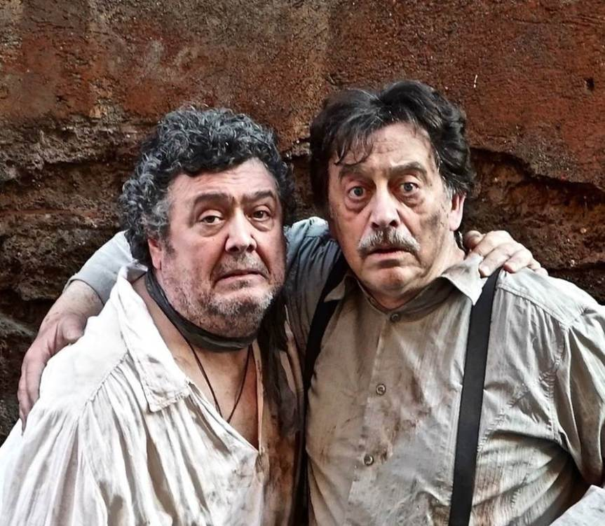 Teatro 7 | Dal 30 aprile Rodolfo Laganà e Massimo Wertmuller sono AMICI PER LA PELLE
