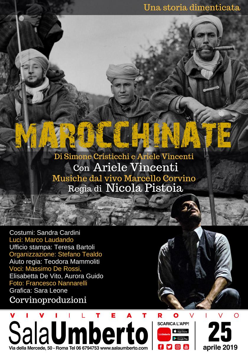 Sala Umberto | Il 25 aprile MAROCCHINATE con ArieleVincenti