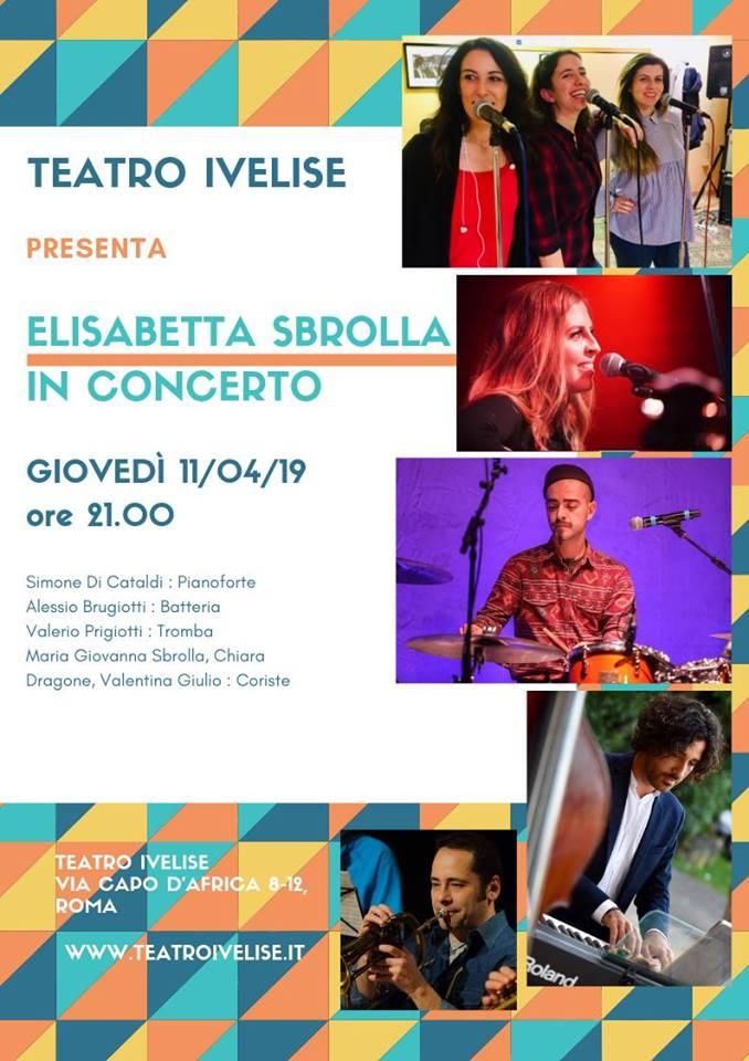 Teatro Ivelise | Elisabetta Sbrolla in concerto l'11aprile