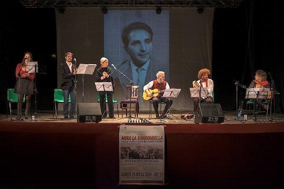 Teatro Vascello | Il 25 aprile MIRA LA RONDONDELLA, musica, storia e storie dai CastelliRomani