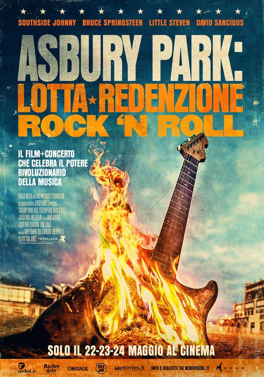 ASBURY PARK: LOTTA, REDENZIONE, ROCK AND ROLL al cinema dal 22maggio