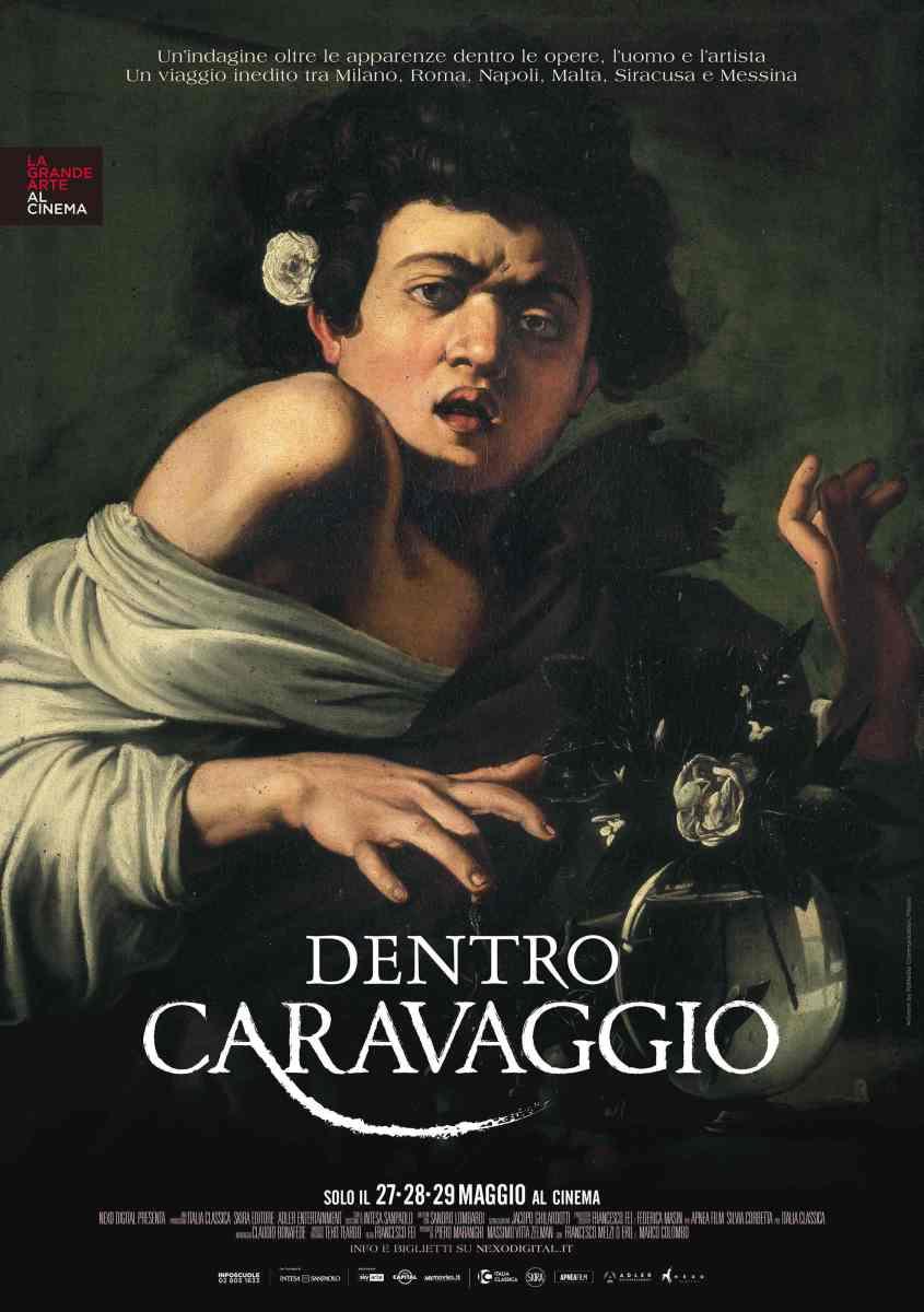 Al cinema dal 27 maggio il docu-film DENTRO CARAVAGGIO