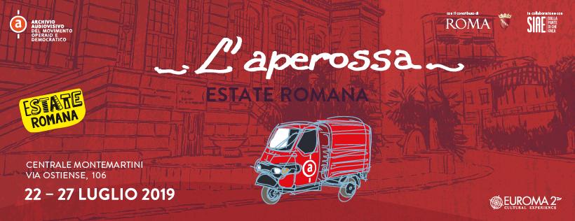 L'APE ROSSA Musica, reading teatrali, esplorazioni urbane dal 22luglio