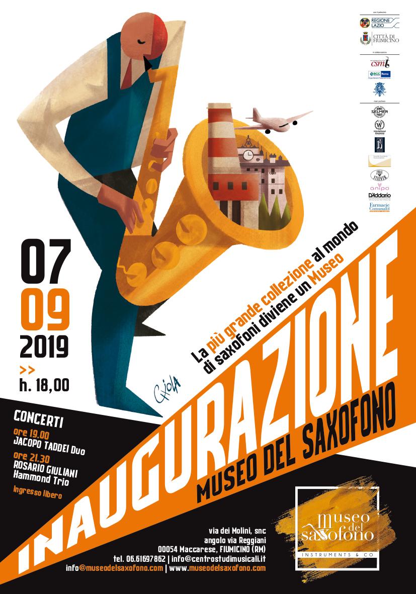 A Maccarese apre il primo Museo del Saxofano