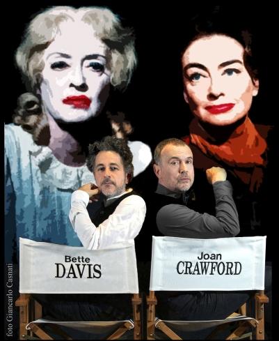Che fine hanno fatto Bette Davis e Joan Crawford-Gianni De Feo, Riccardo Castagnari - Foto di Giancarlo Casnati