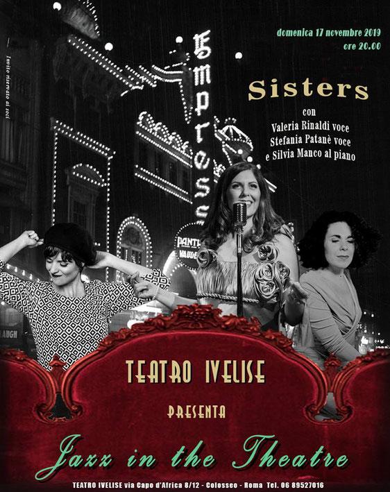 Teatro Ivelise | Il 17 novembre torna JAZZ IN THETHEATRE