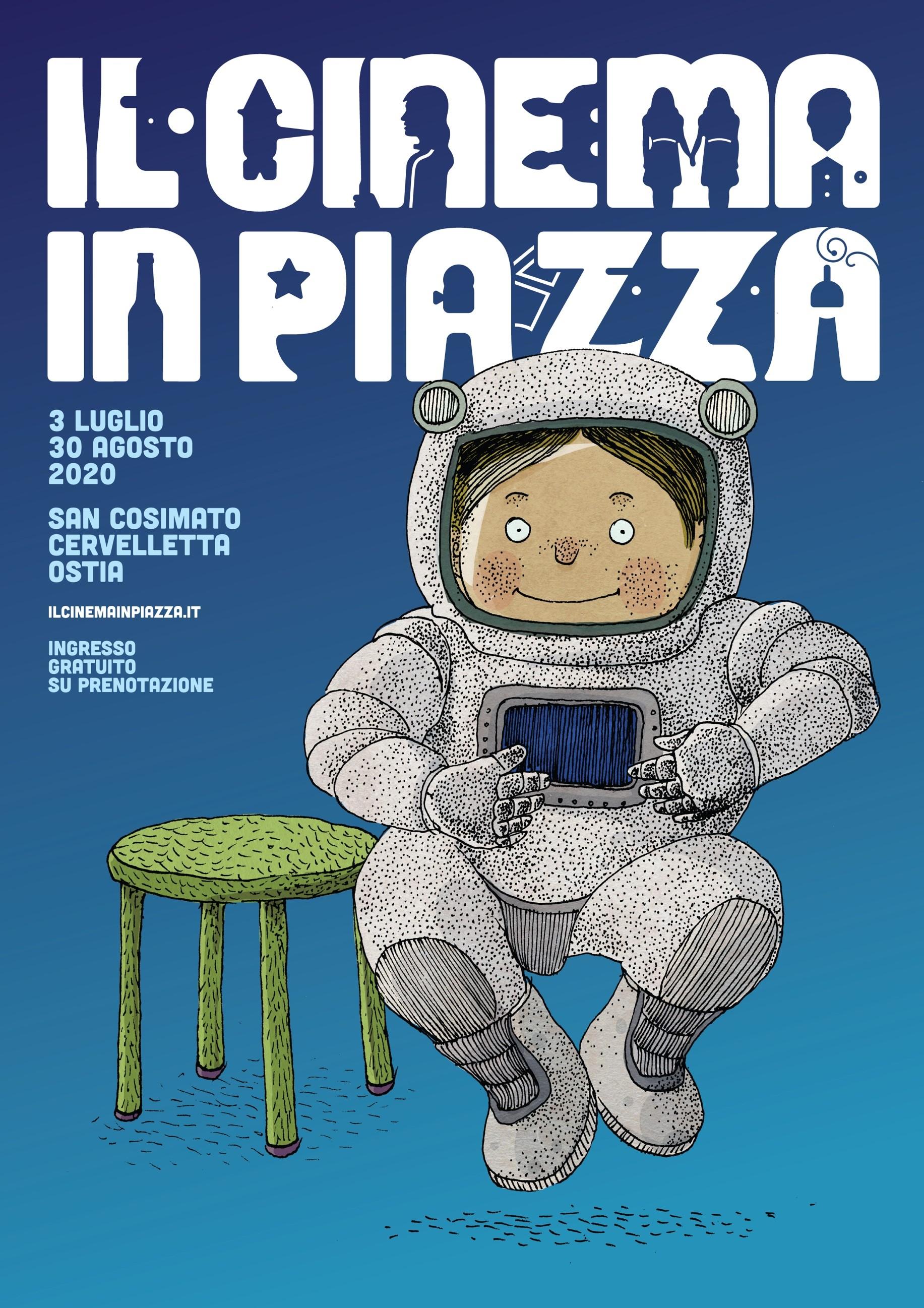 Il Cinema in Piazza: il programma completo fino al 30 agosto