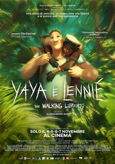 YAYA E LENNIE – THE WALKING LIBERTY, a novembre al cinema il nuovo film di AlessandroRak